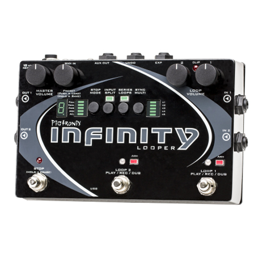 Pigtronix SPL Infinity Looper Pedal - Bananas at Large
