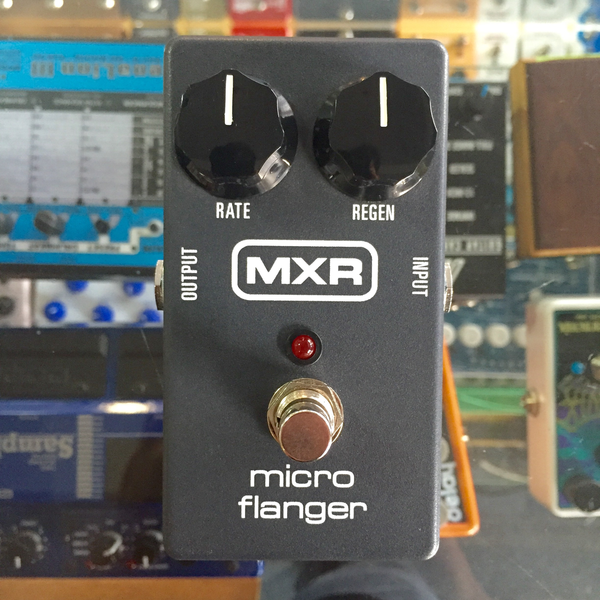 MXR M152 Micro Flanger Pedal (Pre-Owned) - Bananas at Large