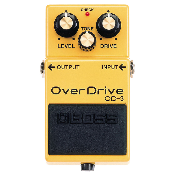 Boss OD-3 Overdrive Guitar Pedal - Bananas at Large