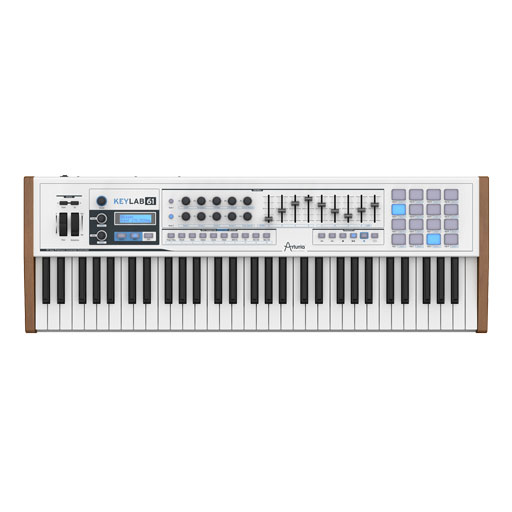 Arturia KeyLab 61 USB/MIDI Controller Keyboard - Bananas at Large