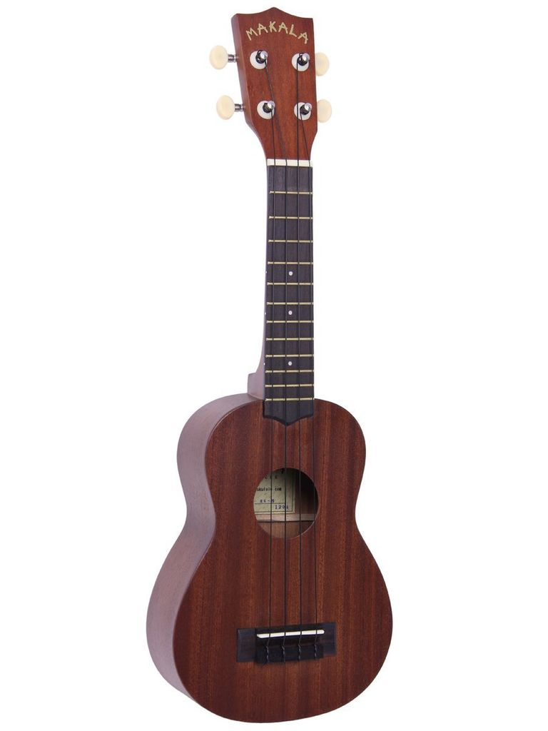 Kala Makala Soprano Ukulele Satin Finish Agathis back and sides - Bananas At Large®