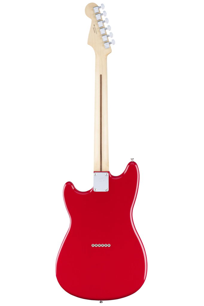 Fender Duo Sonic with Maple Fingerboard - Torino Red - Bananas at Large - 3