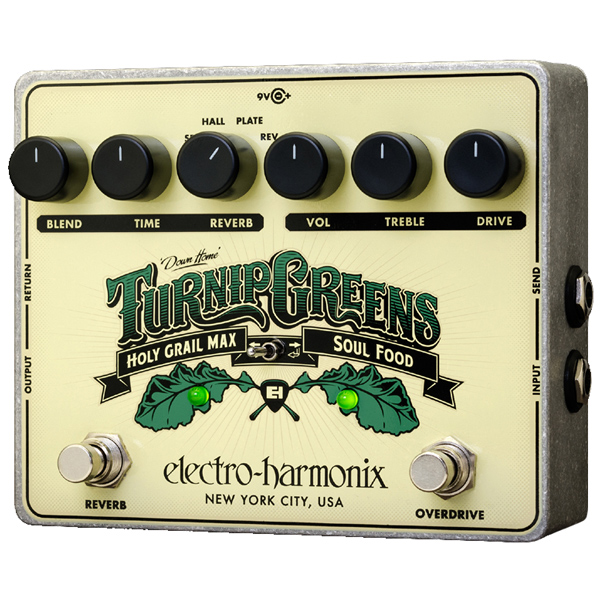TURNIP GREENS Multi-Effect combines Soulfood + Holy Grail Max 9.6DC-200 PSU Included - Bananas at Large