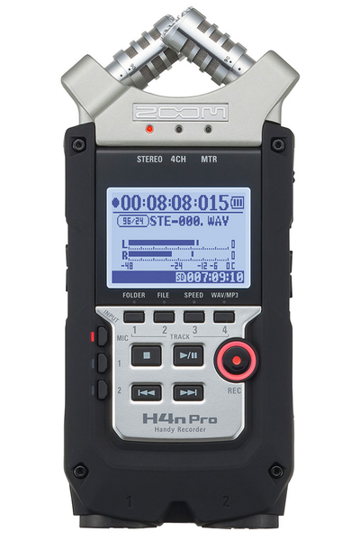 Zoom H4N Pro Handy Recorder - Bananas at Large - 1