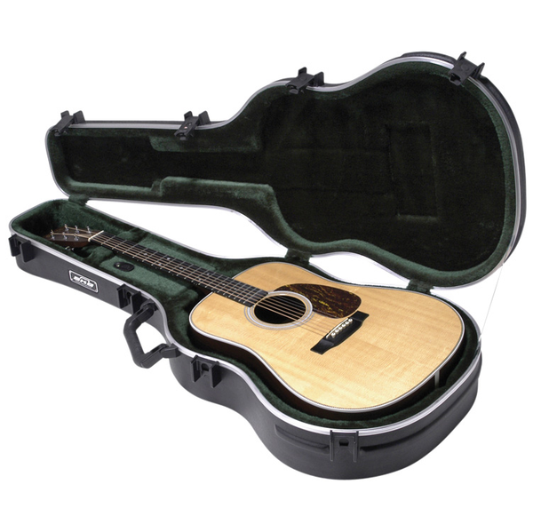 SKB 1SKB18 Acoustic Dreadnought Deluxe Guitar Case - Bananas at Large