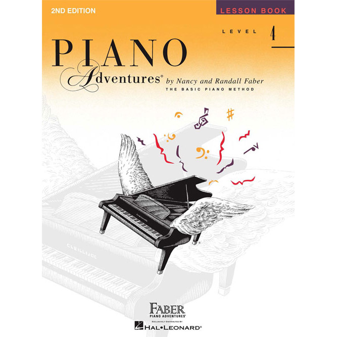 Hal Leonard Piano Adventures Level 4 Lesson Book 2nd Edition - Bananas At Large®