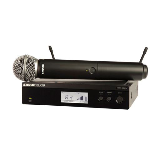 Shure BLX24R/SM58 Handheld Microphone Wireless System - Bananas at Large