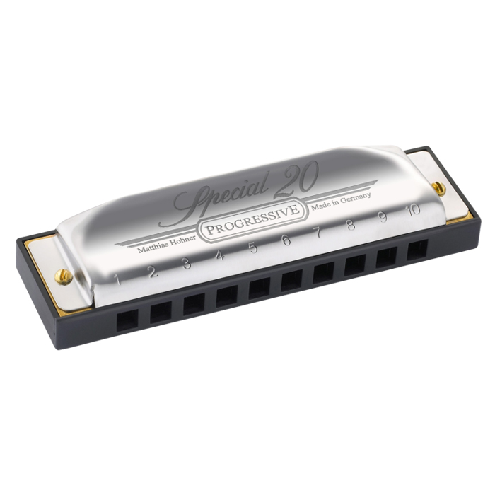 Hohner Progressive Series Special 20 Harmonica In Key Of C - Bananas At Large®