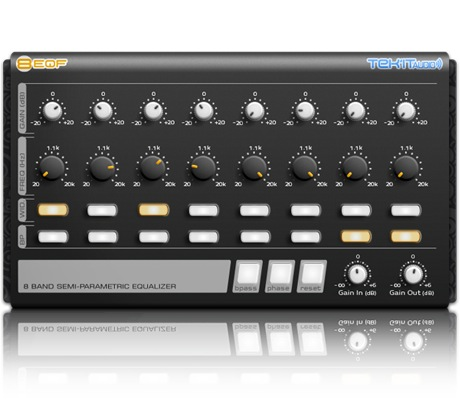 TEK-IT AUDIO Tekit 8 EQ F [Download] - Bananas at Large