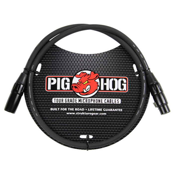 Pig Hog PHM3 8mm Mic Cable, 3ft XLR - Bananas at Large