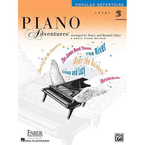 Hal Leonard Piano Adventures Level 2B Popular Repertoire Book 2nd Edition - Bananas At Large®