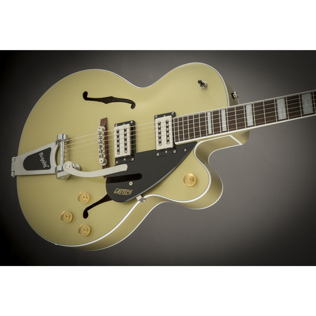 Gretsch G2420T Streamliner Hollow Body with Bigsby and Broad'Tron Pickups - Golddust - Bananas At Large®
