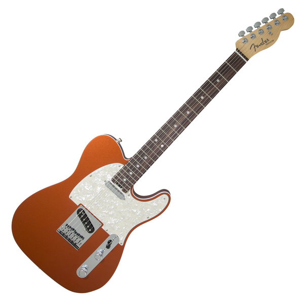 Fender American Elite Telecaster with Rosewood Fingerboard - Autumn Blaze Metallic - Bananas at Large