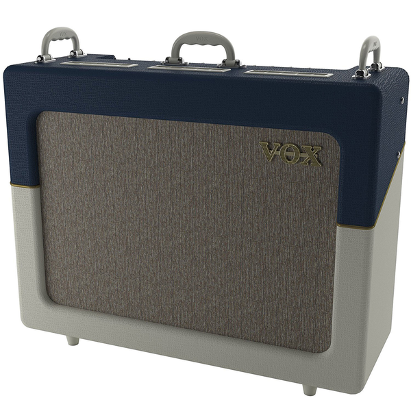Vox AC30C2-TV-BC Limited Edition Custom Series Blue/Cream Two Tone 30-Watt Combo Amp - Bananas at Large