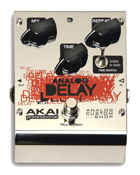 Akai Custom Shop Analog Delay Effect Pedal - Bananas at Large - 1