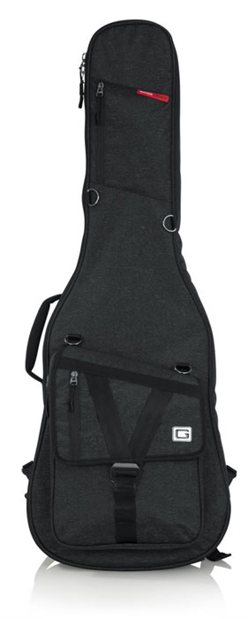 Gator GT-ELECTRIC-BLK Transit Electric Guitar Bag - Charcoal - Bananas At Large®