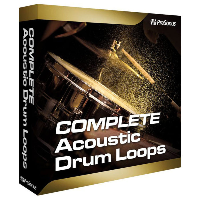 PreSonus Complete Acoustic Drum Loops [Download]