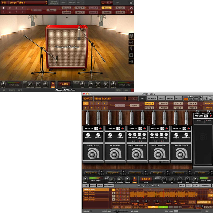 IK Multimedia AmpegSVX Power Duo Bundle AmpliTube 4 + Ampeg [Download]