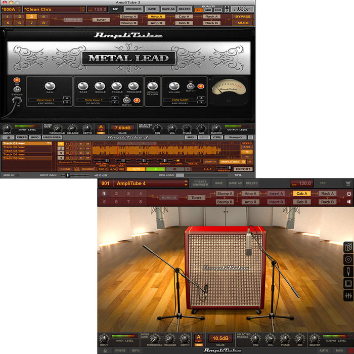 IK Multimedia Metal Power Duo Bundle AmpliTube 4 + AmpliTube Metal [Download]