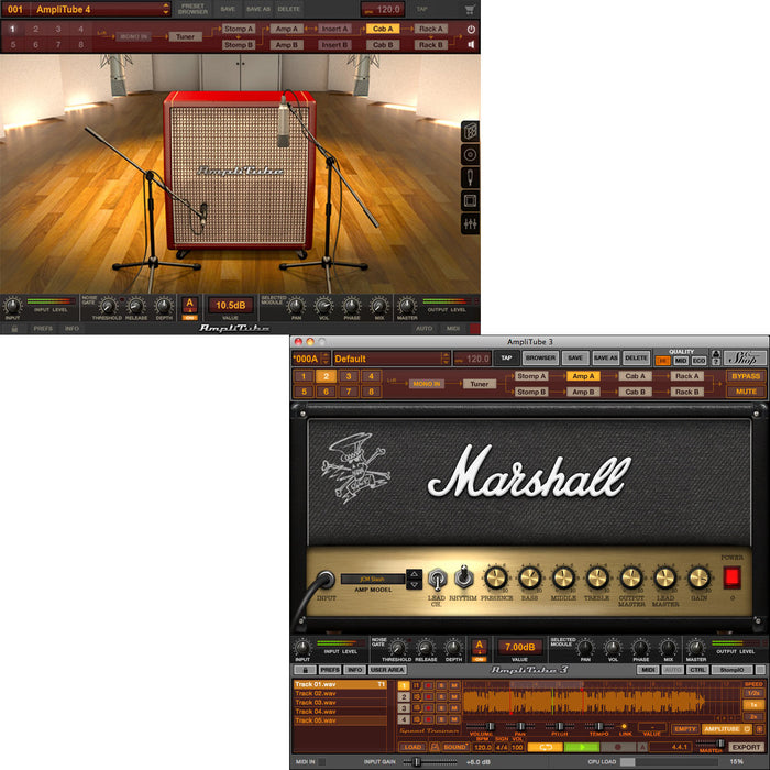 IK Multimedia Slash Power Duo Bundle AmpliTube 4 + AmpliTube Slash  [Download]