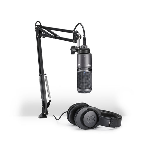 Audio-Technica AT2020USB+ Cardioid Condenser USB Microphone Pack