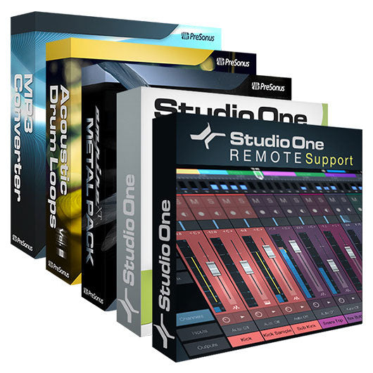 PreSonus Artist Booster Pack for Studio One 3 Artist [Download]