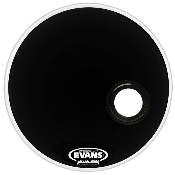 "Evans 22"" EMAD Resonant Bass Drum Head"