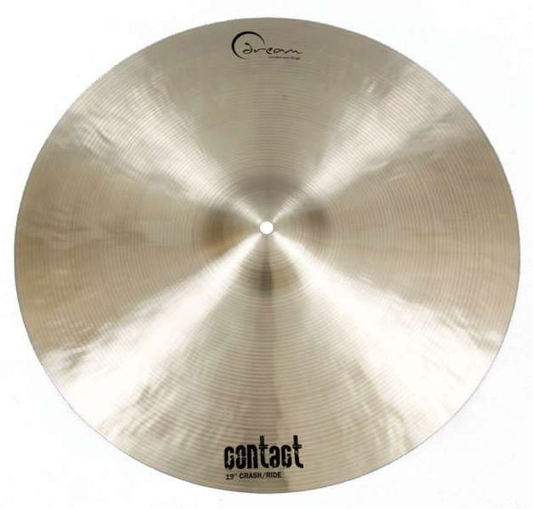 Dream Cymbals C-CRRI19 Contact Series 19 in. Crash/Ride Cymbal