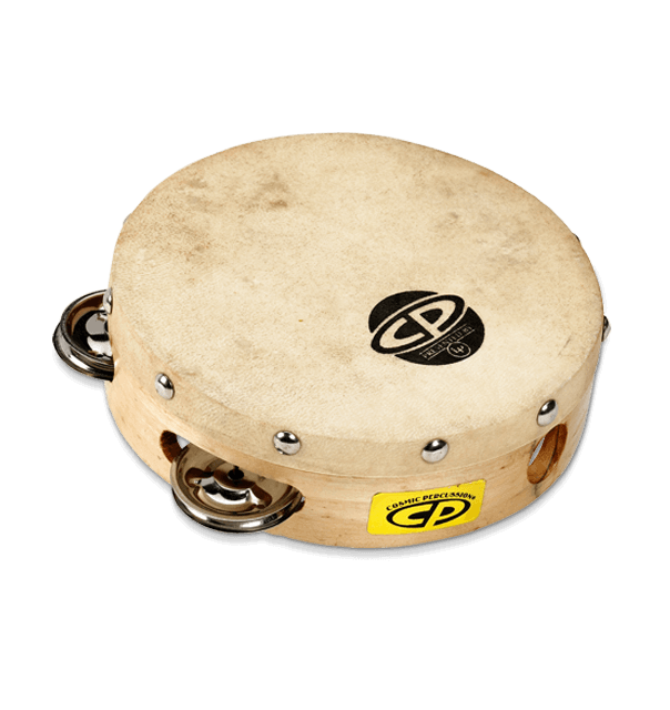 Latin Percussion CP376 CP 6in Wood Headed Single Row Jingles