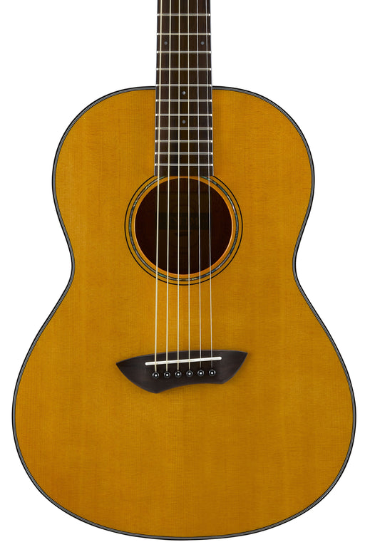 Yamaha CSF1M Parlor Size Acoustic Electric Guitar with Hard Bag - Vintage Natural