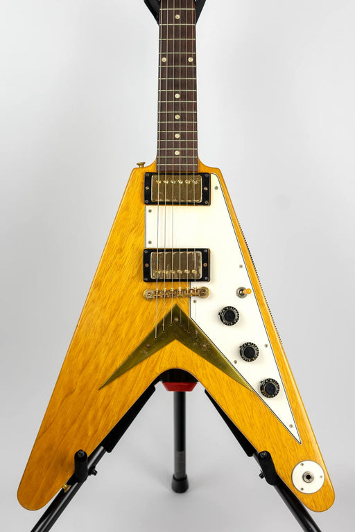 1958 Gibson Flying V Electric Guitar Uncirculated/Original w/PAF Pickups w/Case (Pre-Owned) (Glen Quan Private Collection)