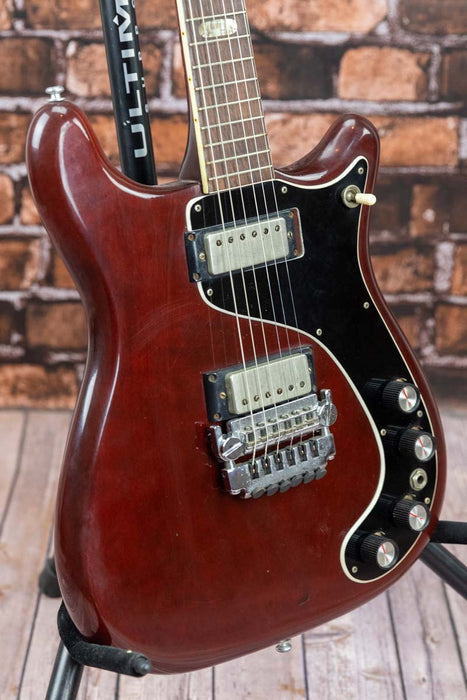 Epiphone Vintage Mod'd Wilshire Electric Guitar Mid to late 60's w/Hard  Case (Pre-Owned) (Glen Quan Private Collection)
