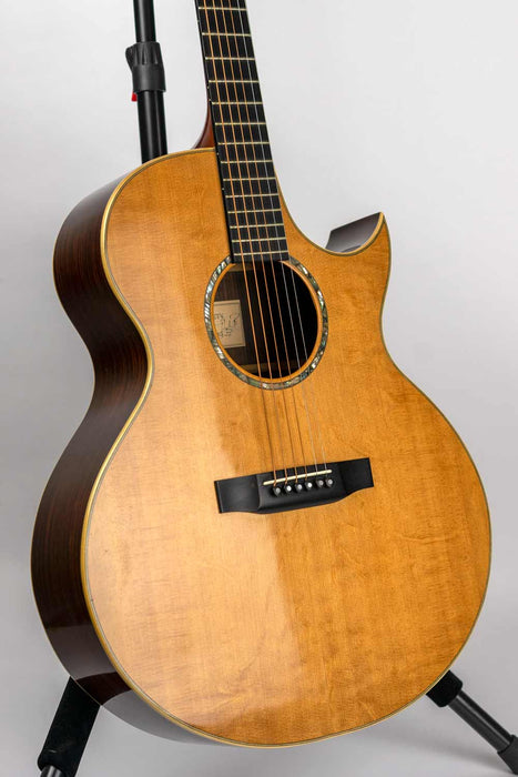 G.W. Barry Luthier '97 Custom Concert Model Acoustic Guitar (Pre-Owned) (Glen Quan Collection)