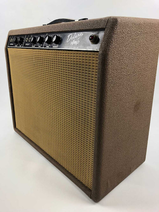 Fender 1961 Deluxe Brownface Combo Amplifier (Pre-Owned) (Joe Satriani Private Collection)