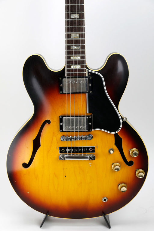 Gibson 1962 ES-335 Sunburst Electric Guitar with Hard Case (Steve Sage Private Collection) (Pre-Owned)