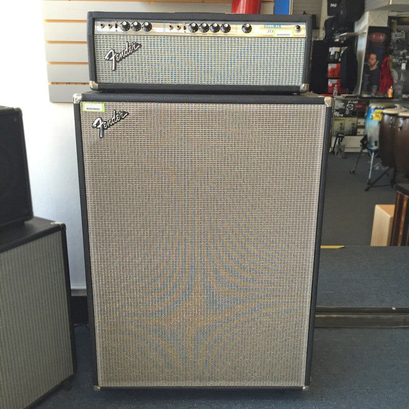 Fender Bassman 100 1976 Head with Cab (Pre-Owned) - Bananas at Large - 2