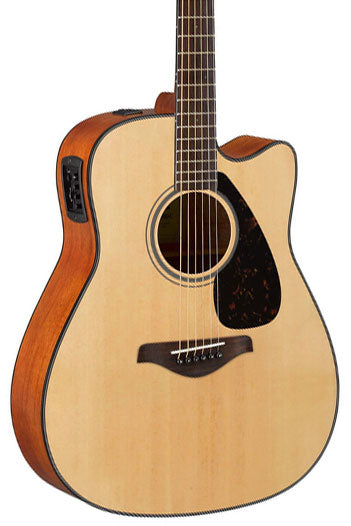 Yamaha FGX800C Acoustic Electric Guitar - Natural