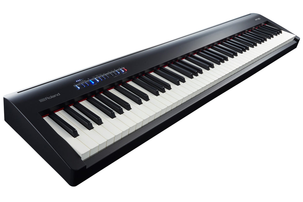 Roland FP-30 88-Key Digital Piano with Supernatural Sound Engine and Bluetooth - Black