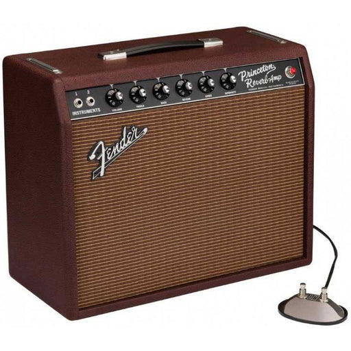 Fender Limited Edition 65 Princeton Reverb British Sable w/Celestion Heritage G12-65