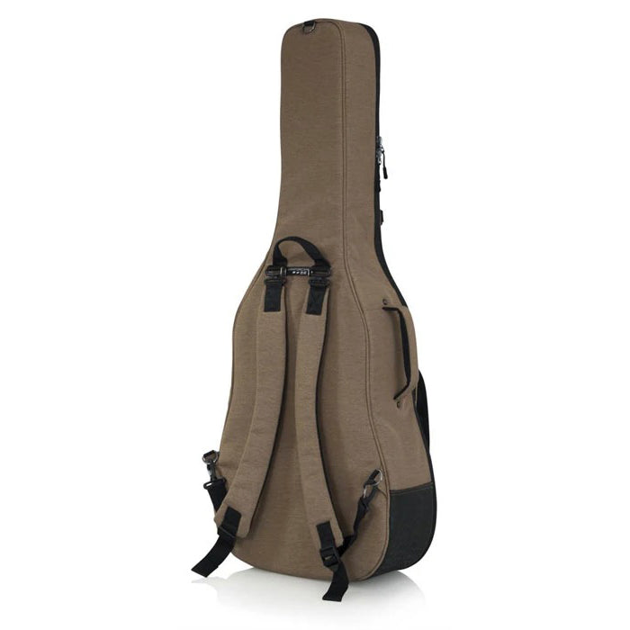 Gator GT-ACOUSTIC-TAN Transit Acoustic Guitar Bag - Tan