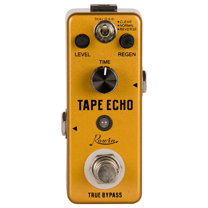 Rowin LEF-3809 Tape Echo Digital Delay Pedal Upgraded