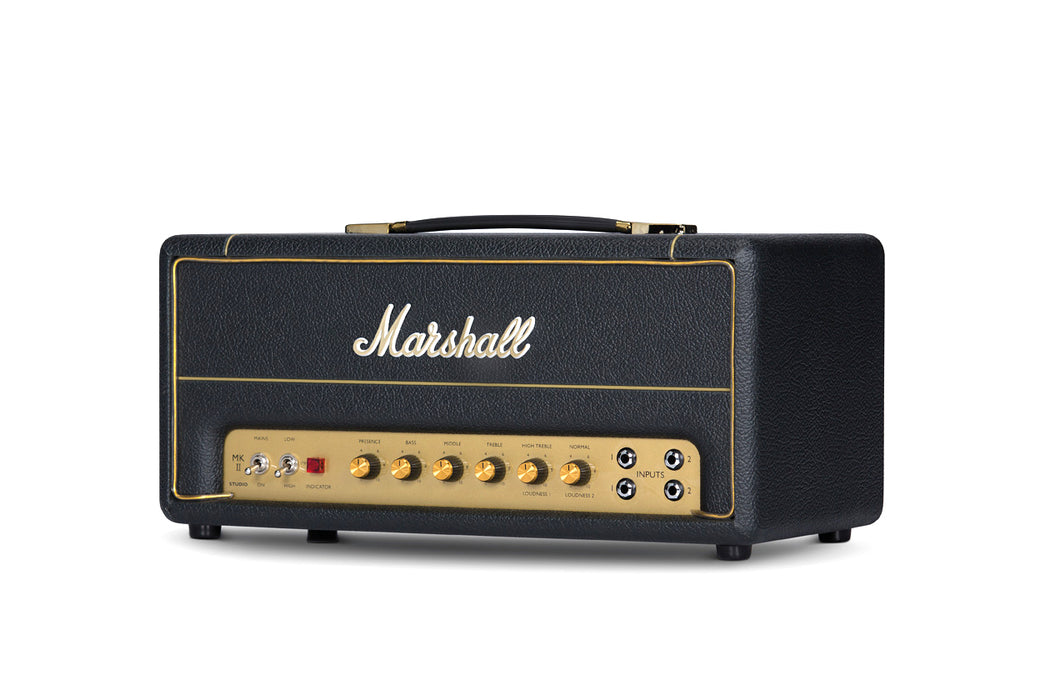 Marshall SV20H MKII Studio Vintage - 20 Watt Guitar Head - Black