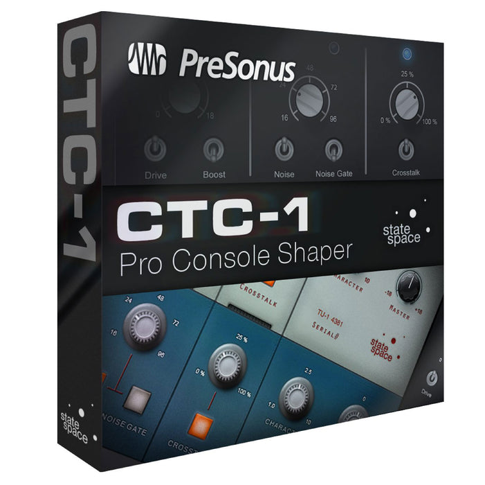 PreSonus CTC-1 Pro Console Shaper Add-On for Sudio One 3 Professional [Download]