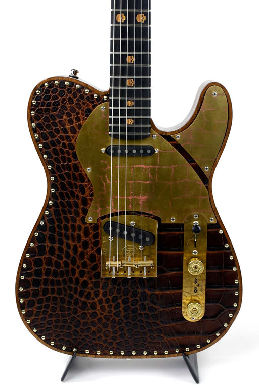 Paoletti Guitars Rex Brown Signature Nancy Leather