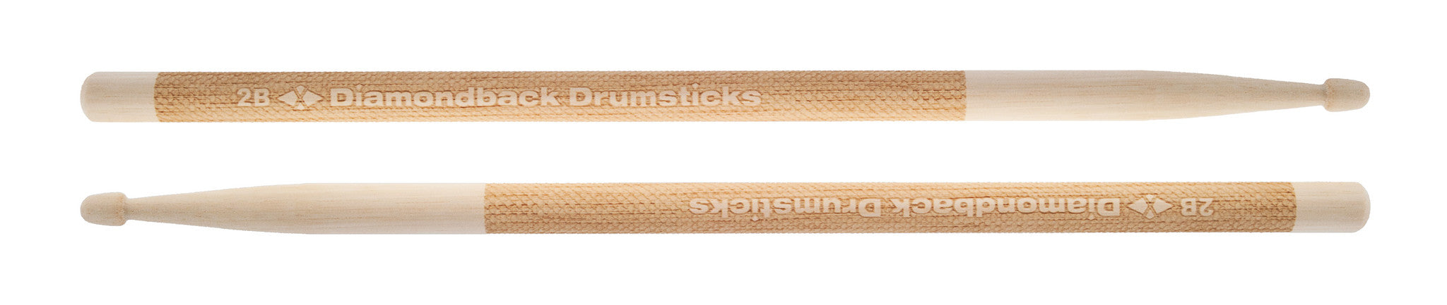 Diamond Laser Engraved 2B Wood Tip Drumsticks - Bananas at Large - 2