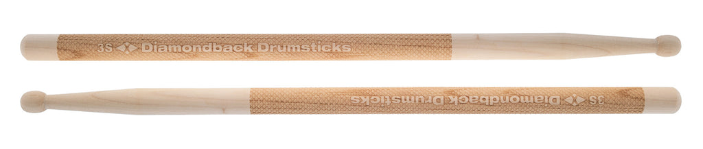Diamond Laser Engraved Drumsticks 3S Marching - Bananas At Large®
