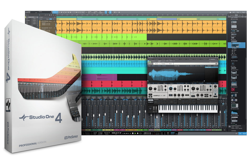 PreSonus Studio One 4 Professional Crossgrade From Another Qualifying DAW [Download]