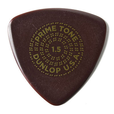 Dunlop 517P1.5 3-Pack Primetone Small Tri Sculpted Plectra - Bananas at Large