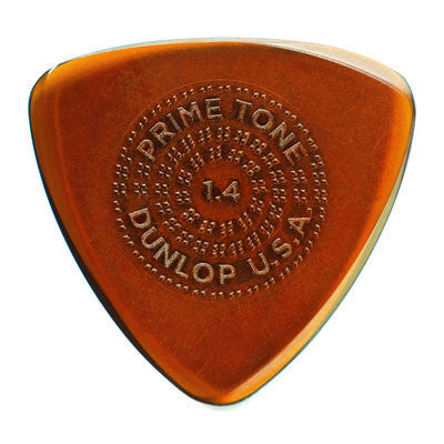 Dunlop 516 Primetone Small Tri Sculpted Plectra with Grip 3-Pack - Bananas at Large