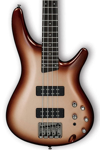Ibanez SR300E SR Standard Series Electric 4 String Bass - Charred Champagne Burst